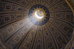 De Koepel van de kunst van een kathedraal Royalty-vrije Stock Fotografie