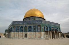 De Koepel van de Rots in Jeruzalem, Israël Royalty-vrije Stock Fotografie