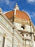 De Koepel van Florence Duomo stock afbeelding