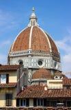 De koepel van Florence van Brunelleschi royalty-vrije stock foto's