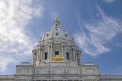 De Koepel van het Capitool van de Staat van Minnesota royalty-vrije stock foto
