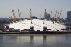 De Koepel van het millennium, Greenwich, Londen Stock Afbeeldingen