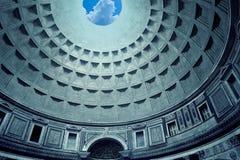 De koepel van het pantheon, Rome Royalty-vrije Stock Foto's