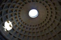 De koepel van het Pantheon rome royalty-vrije stock foto's