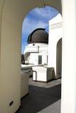 De Koepel van het waarnemingscentrum Stock Afbeelding