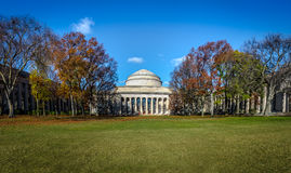 De Koepel van Massachusetts Institute of Technology MIT - Cambridge, Massachusetts, de V.S. royalty-vrije stock afbeelding