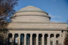De Koepel van Massachusetts Institute of Technology MIT - Cambridge, Massachusetts, de V.S. stock fotografie