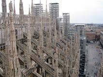 De Koepel van Milaan Stock Fotografie