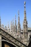 De koepel van Milaan in Italië Royalty-vrije Stock Foto