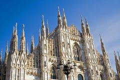 De koepel van Milaan in Italië Stock Fotografie