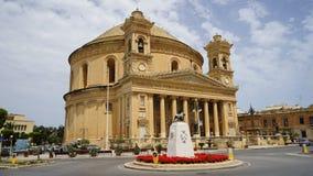 De Koepel van Mosta, Malta royalty-vrije stock foto's