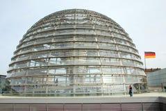 De koepel van Reichstag Stock Fotografie