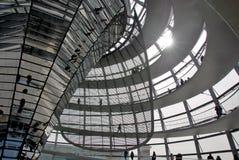 De koepel van Reichstag Royalty-vrije Stock Afbeeldingen