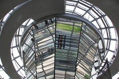 De koepel van Reichstag Stock Afbeelding