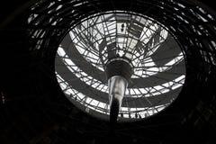 De Koepel van Reichstag, Berlijn Stock Foto's
