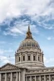 De Koepel van San Francisco City Hall Stock Afbeeldingen