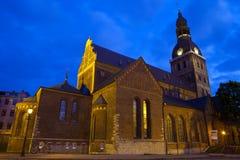 De Koepelkathedraal van Riga Royalty-vrije Stock Afbeeldingen