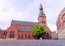 De Koepelkathedraal van Riga in Letland Royalty-vrije Stock Foto's