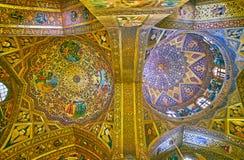 De koepels van Vank-Kathedraal, Isphahan, Iran Royalty-vrije Stock Foto