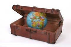 De koffer van de reis royalty-vrije stock fotografie