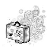 De koffer van de reis Royalty-vrije Stock Foto