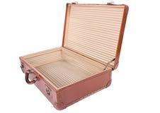 De koffer van de reiziger Stock Afbeeldingen