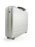 De koffer van het metaal, bagage Stock Foto's