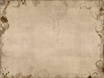 De koffie bevlekt achtergrond vector illustratie