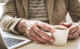 De koffie is goed voor pauze royalty-vrije stock fotografie