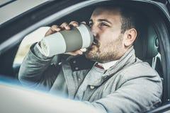 De koffie is mijn verfrissing stock foto
