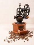 De koffie miljoen overhandigt getrokken illustratie Stock Afbeeldingen