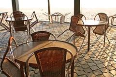 De koffie van Beachside Stock Fotografie