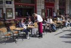 De Koffie van Brussel stock afbeeldingen