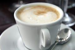 De koffie van Capuccino Stock Foto