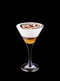 De koffie van cocktailamaretto Stock Afbeelding