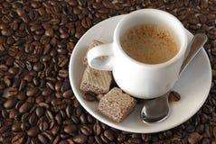 De Koffie van de espresso Royalty-vrije Stock Foto's