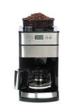 De koffie van de espresso en van americano de constructeur van machines Stock Foto
