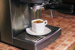 De koffie van de espressoochtend Stock Fotografie