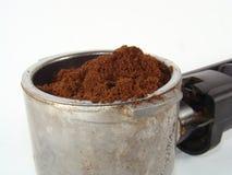 De koffie van de grond royalty-vrije stock foto