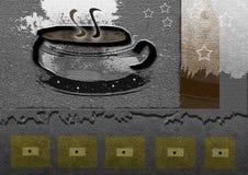 De Koffie van de koffie Stock Foto's