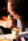 De koffie van de kunst Royalty-vrije Stock Foto's