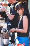 De koffie van de kunst Stock Foto's