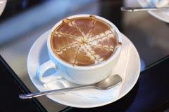 De koffie van de Lattekunst Royalty-vrije Stock Foto's