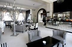 De koffie van de luxe in duur hotel Stock Foto