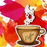 De koffie van de muziek Stock Fotografie