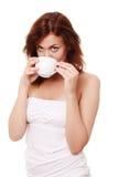 De koffie van de ochtend Stock Foto
