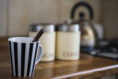 De koffie van de ochtend Stock Afbeelding