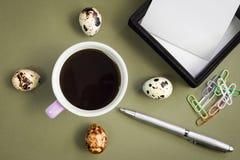De koffie van de ochtend Royalty-vrije Stock Fotografie