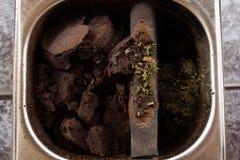 De koffie van de slagdoos Royalty-vrije Stock Fotografie