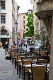 De koffie van de straat - Duitsland Royalty-vrije Stock Afbeeldingen